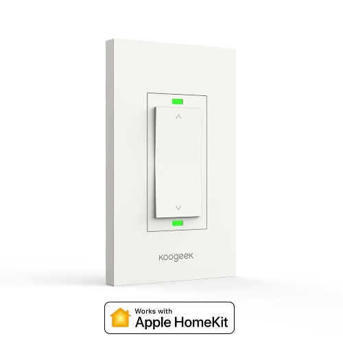 Koogeek Wi-Fi Smart Light Dimmer funktioniert mit Apple HomeKit