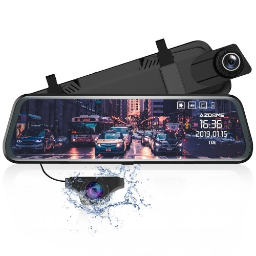 AZDOME PG02 Voiture DVR Streaming Media Night Vision