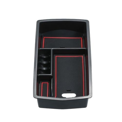 Автомобиль Центральный Подлокотник Ящик Для Хранения Центральная Консоль Организатор Ящик Для Хранения Организатор Замена Лотка Для Peugeot 3008 GT 2016-2019 фото