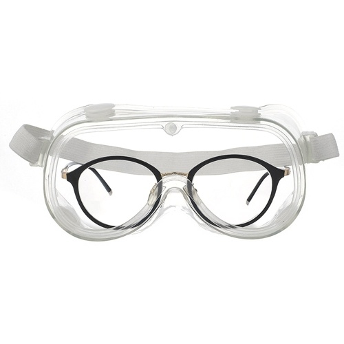 Safety Glasses Protective Eyewear Goggles Splash Impact Resistant Anti-fog Lens with Air Vent UV Protection