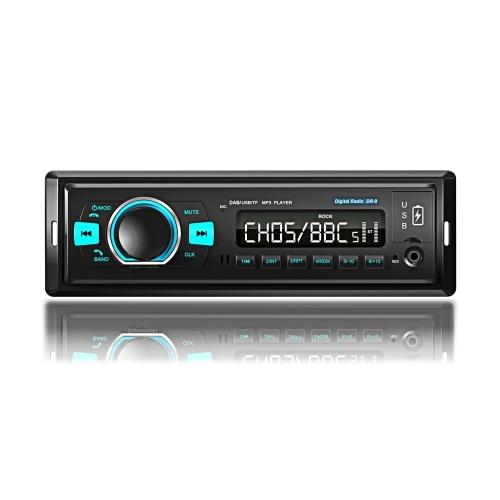 1 Din Автомобильный навигационный плеер Радио Стерео Автомобильная цифровая радиосистема
