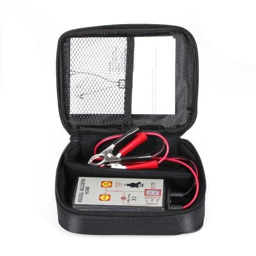Probador de inyector automático EM276 4 modos Pluse Inyector de combustible Limpiador de descarga Adaptador Kit de herramientas de limpieza