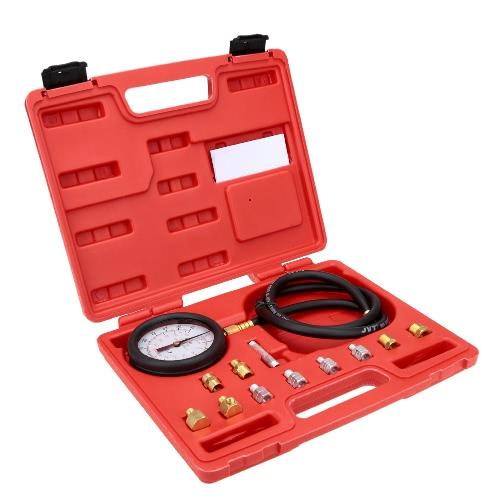 Onda caixa pressão medidor óleo pressão testador calibre garagem Kit ferramenta de teste