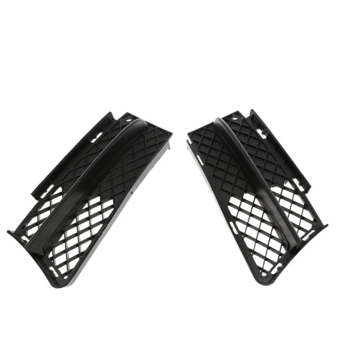 Pair of Front Bumper Lower Side Grill Air Flow Exterior for BMW 3-Series E90 E91 2006-2008