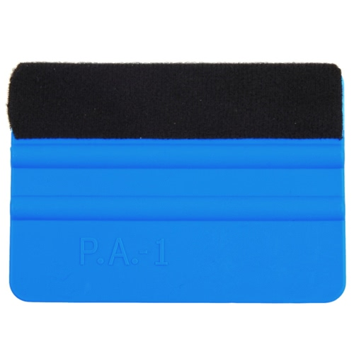 Vinyl Plastic Car Squeegee Decal Wrap Applicator Soft Felt Edge Scraper