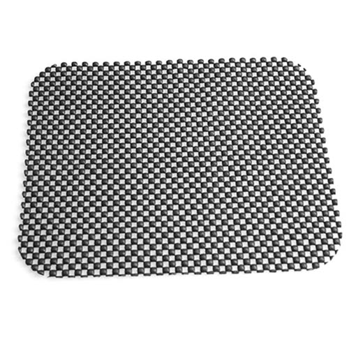 Black Car Anti Non Slip Multifunction Net Holes Auto Dashboard Cup Coin Sunglass Tablet Skid Proof Pad Holder Interior Decoration Accessories