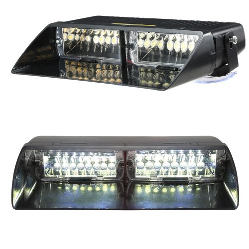 16LEDs 18 Flashing Modes Car Truck Emergency Flash Dash Strobe Light