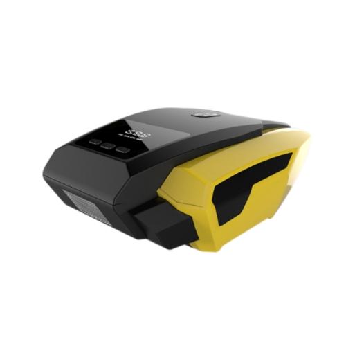 Bomba de inflação portátil de pneus de alta potência 12V Auto Display LED digital Bomba de compressão de ar de emergência para caminhões de carro Basquetebol