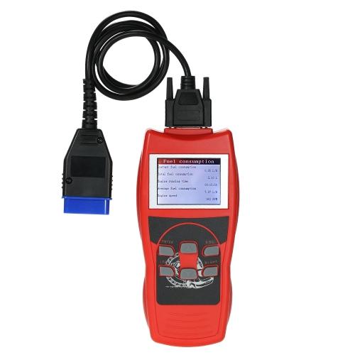 V800 Universal OBDII EOBDII Scanner Leitor de Código de Carro Do Scanner Ferramenta de Verificação de Diagnóstico de Falhas com Tela LCD Colorida