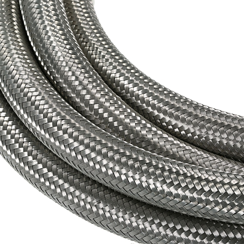 Stainless Steel Braided Fuel Hose Oil Cooler Hose 1M