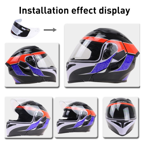 Anti-scratch Full Face Shield UV Motorcycle Helmet For 316 902 AGV K5 K3SV