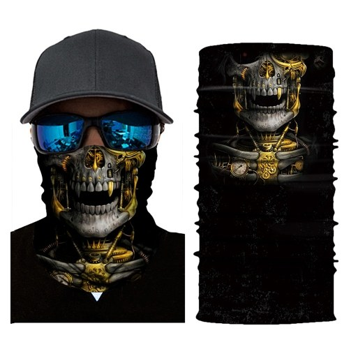 Cool Robot Skeleton Halloween Mask Scarf Joker Headband Balaclavas
