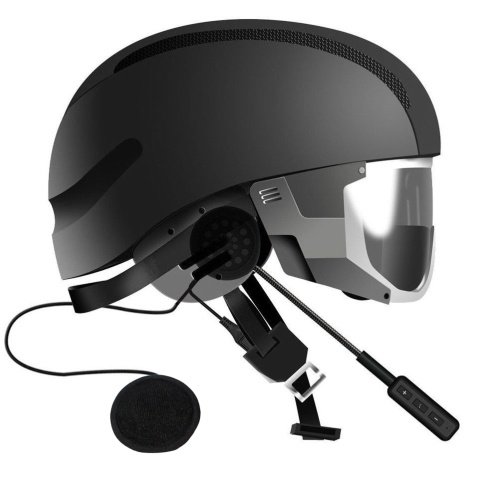 H113 Motorradhelm Kopfhörer 3,5 mm Stecker Headset