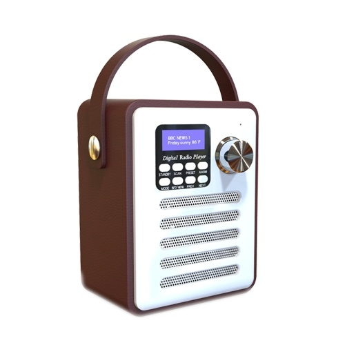 BT DAB / DAB + Rádio FM Digital Speaker com som estéreo despertador MP3 Player