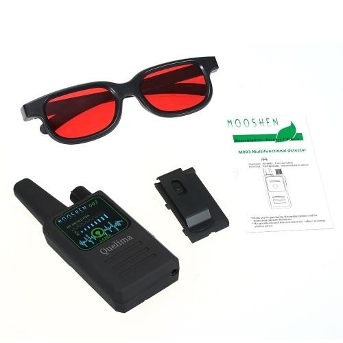 Quelima M003 RF Detectors Hidden Camera GSM Audio Finder