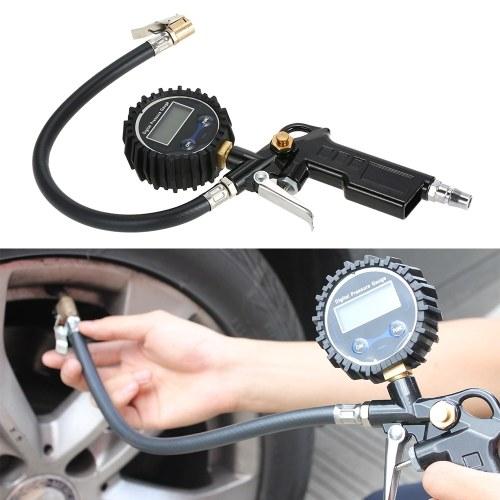 Digital Tire Pressure Gauge 10-220PSI  for Car Truck Motorcycle Bicycle