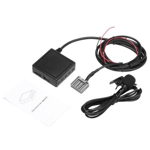 Автомобильный USB-адаптер Aux Беспроводной аудиовход BT 5.0 Подходит для HONDA Civic 2006-2013 Accord 2008-2013