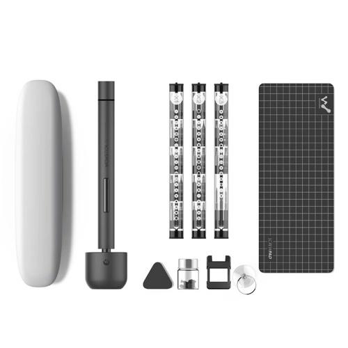 Набор миниатюрных электрических отверток для аккумуляторных батарей со светодиодной подсветкой Литиево-железная батарея