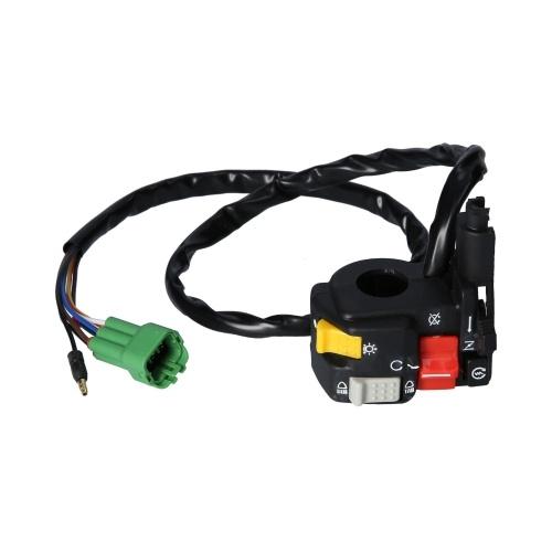 Encendido / apagado del motor / luces de estrangulador de encendido / apagado Hi / Lo L / H interruptor de luz de repuesto para Honda TRX400FW 1998-2003 35020-HM7-A00