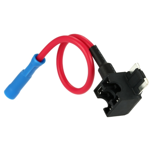 Japanese Type Car Automotive Mini In Line Standard Fuse Holder Circuit Security 12V 30A Fuse Adapter