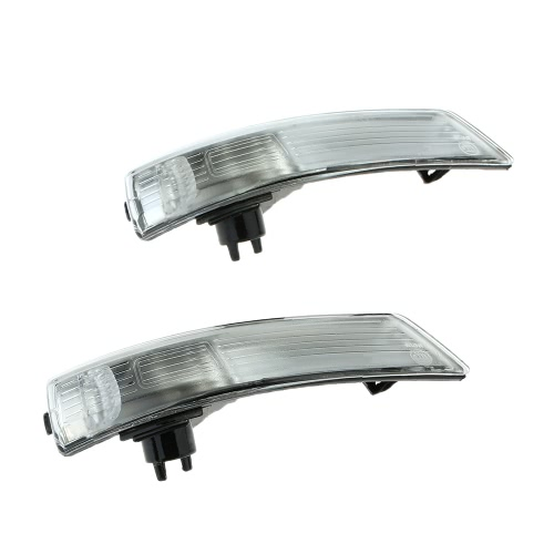 Pair of Mirror Turn Signal Corner Light Lamp Cover Shade Screen for Ford Focus II 2 III 3   Mondeo