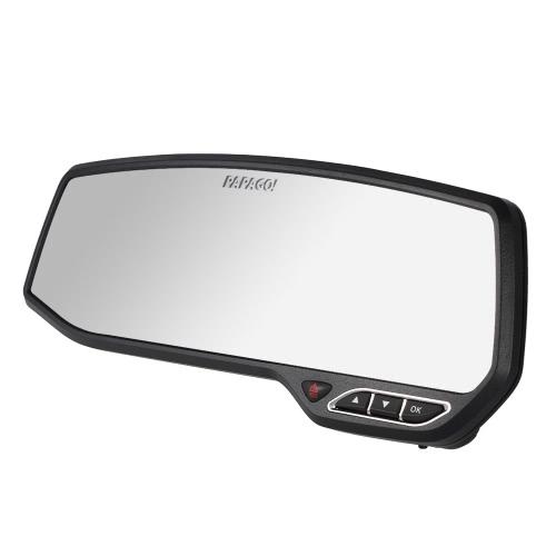 PAPAGO M10G Car DVR Novatek 96650 1080P 2.7 Écran 147 degrés Angle Rétroviseur anti-éblouissement Enregistreur vidéo