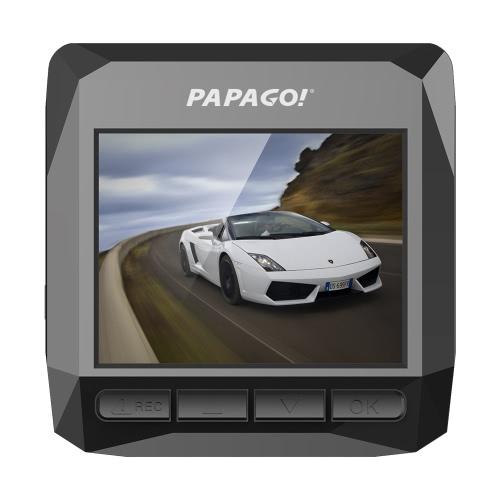 PAPAGO D1 Car DVR PPG 8030 Dual Core 1440P 2.0 pouces 145 degrés Angle Dash Cam Video Recorder