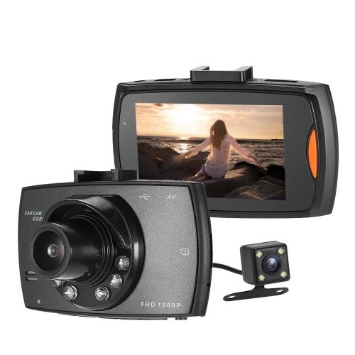 2.7 calowy rejestrator wizyjny DVR 1080P firmy FHD o rozdzielczości 1080 pikseli
