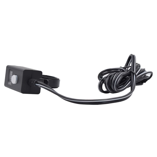 12-24V Motorcycle SAE 3.1A Dual USB Waterproof Power Charger  With Switch LED Indicator Light