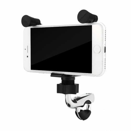 Motocicleta E-bike Bicicleta 2 em 1 Stand Holder Mount Bracket USB Port Adapter Carregamento para celular GPS Navigator MP3 Player