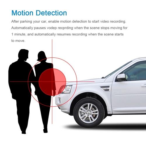 KKmoon 4'' 1080P Dual Lens Car DVR