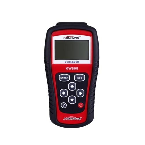MaxiScan KW808 OBDII EOBD leitor de código de carro do scanner diagnóstico