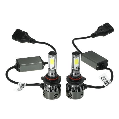 Mini Car Светодиодные лампы для ламп Conversion Kit 9005 60W 6000K 9600LM Все-в-одном автомобильный фары Белый