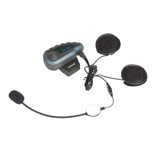 Vnetphone V8 BT Intercom Motorcycle Helmet Waterproof Interphone Headset
