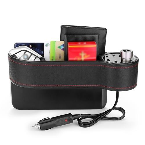 Caja recargable para almacenamiento de automóviles