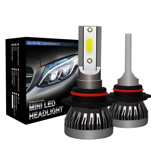 2Pcs Car 9005 LED Headlight Bulbs Conversion Kit