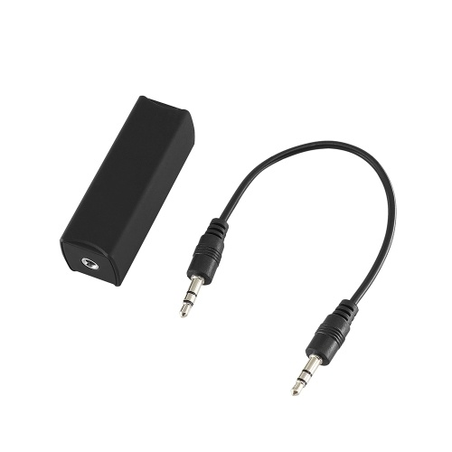 Шумоизолятор контура заземления, эффективно устраняющий звуковой шум для домашнего динамика автомобильной аудиосистемы с аудиокабелем 3,5 мм