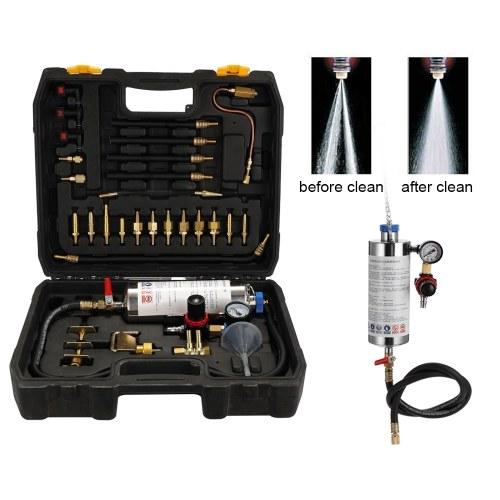 インジェクタークリーナーカー燃料非解体EFIスロットル洗浄ツールカーサービスノズルオートサービスクリーニングインジェクター