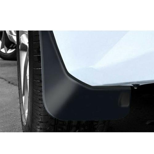 4ピースブラックカー泥フラップスプラッシュガードフェンダーマッドガードフィット用テスラモデル3 2016-2019