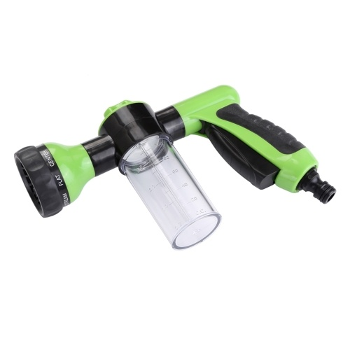 Foam Sprayer Garden Water Hose Foam Nozzle Soap Dispenser Gun