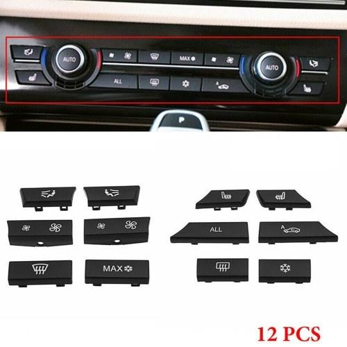 Reemplazo del interruptor del calentador de CA de 12 tapas de teclas para BMW 5 6 7 F10 F01 F12 61319313923