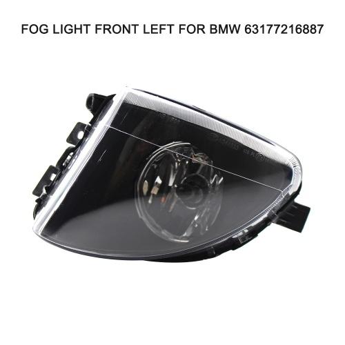 Nueva luz antiniebla delantera izquierda reemplazo para BMW 528I 11-13 530I 2012-2013 63177216887