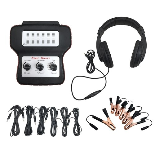 Electronic Stethoscope Car Noise Finder Diagnostic Listening Device Machine Multi-Channel Noise Detector Abnormal Sound Detector for Automotive