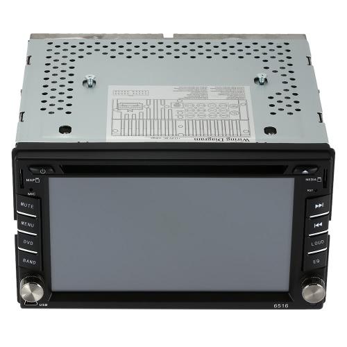 """6.2 """"Universal 2 Din HD Samochodowy odtwarzacz DVD / USB / SD Nawigacja GPS BT Multimedia Rozrywka AF / FM Radio"""