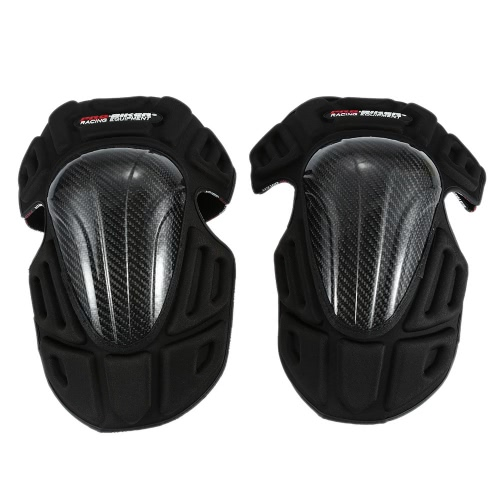 PRO-BIKER One Pair of Knee Pads Body Protect Guard for Motorcycle Racing Bike Riding Skating Outdoors Sports