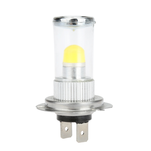 3D 1SMD 700LM 7.5W LED Car Fog Light Lamp Bulb Replacement for H4 Socket White