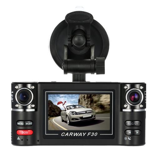 F30  Dual Lens Car Driving Recorder