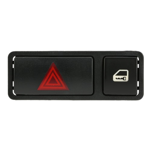 Hazard Warning Light Emergency Flasher Switch Door Central Lock Locking Switch for BMW E46 E53 E85 325 X5