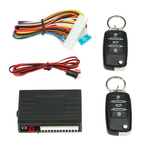 Car Door Lock Keyless Entry System Remote Central Locking Kit for VW LUPO POLO