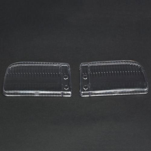 Un par de caso de la cubierta de niebla luz de la lente para BMW E30 Serie 3 1985-1993
